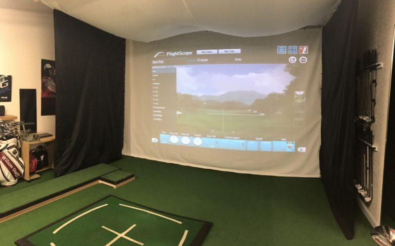 Poulton Park Tuition facilities have taken a huge step forward with this build. It is know for its fantastic short game area but custom fitting is an issue due to the length of the practice area. This design incorporated with an indoor projector net linked with Flightscope has seen a huge influx of driver custom fitting. Plus its a great place to learn in the winter.