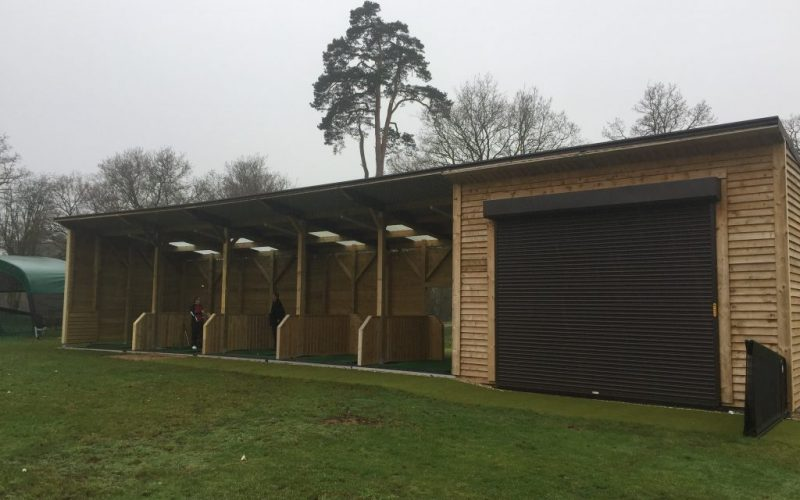 The beautiful Gerrards Cross Golf Club is located in the northern part of Gerrards Cross, Buckinghamshire. It was established in 1922 and is ranked as the 9th best golf course in the county by the website Top 100 Golf Courses. Golf Driving Bays completed an indoor studio with 3 bay range back in December 2016. Following the success of the facility the club contacted Golf Driving Bays again to extend the build to include a further 2 bays which have recently been completed